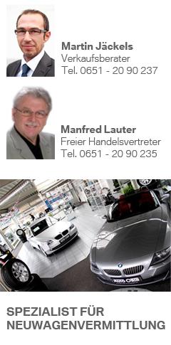 BMW Neuwagen Verkauf Trier