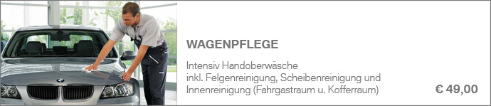 BMW Trier Werkstatt Wagenpflege