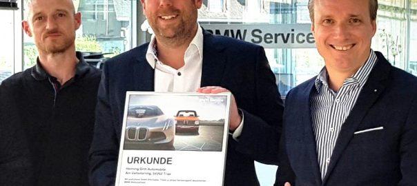 BMW Werkstatt Test Auszeichnung