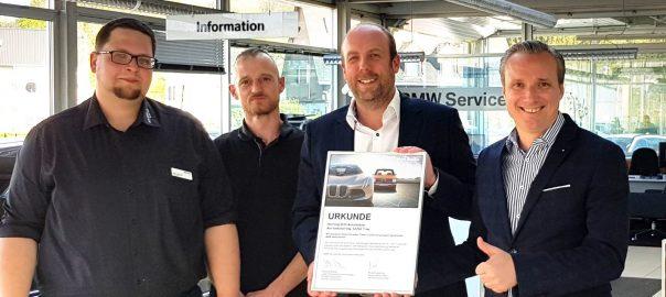 BMW ORTH TRIER TEST WERKSTATTTEST AUSZEICHNUNG SERVICE