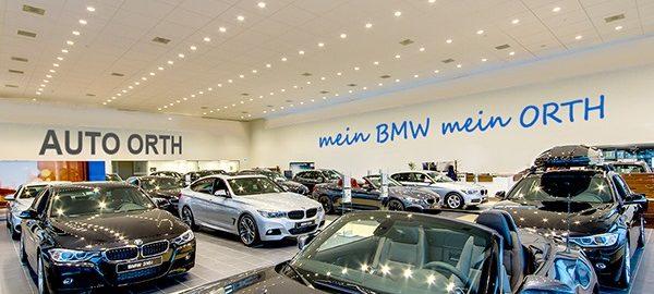 BMW auf 600m2 mehr Showroom