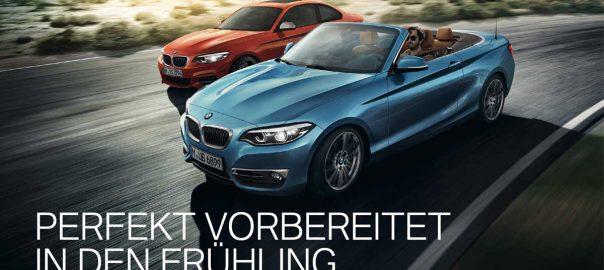 BMW Service Aktionen Frühjahr 2021