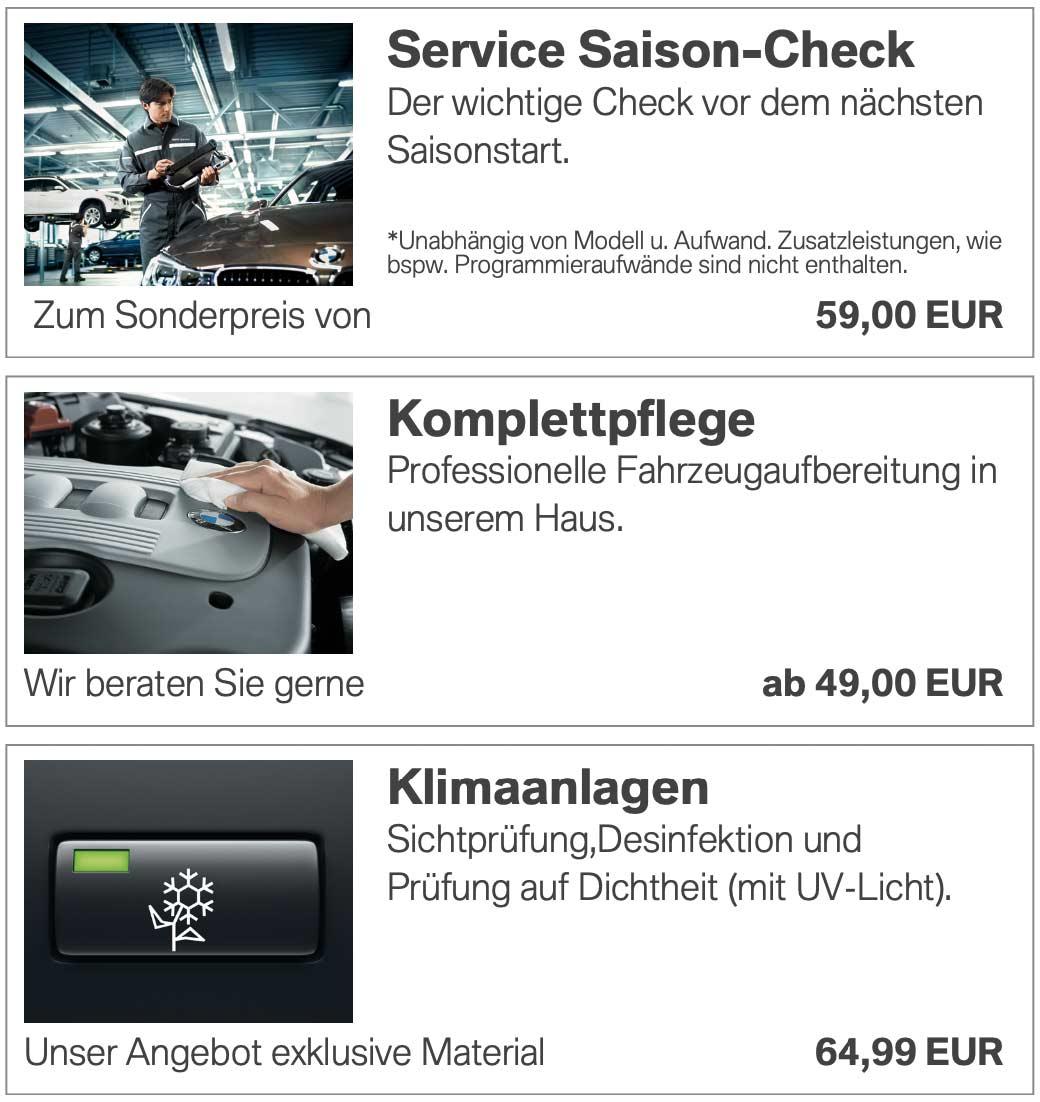 Servicecheck BMW