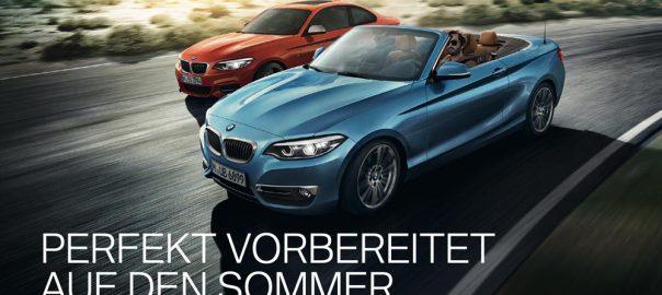BMW Service Aktion Sommer 2021
